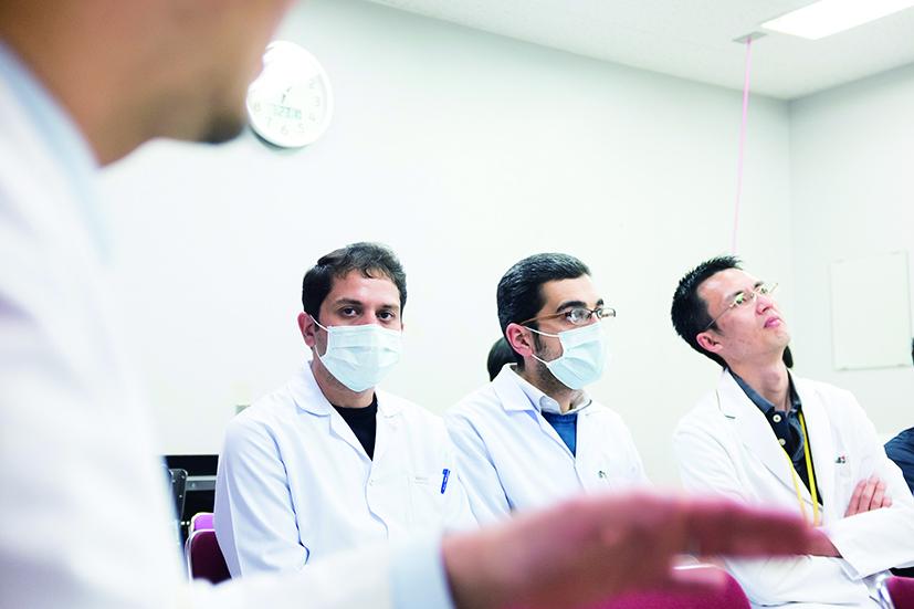 小児がん治療研修のため、10年前より名大病院にイラク人医師を受け入れている