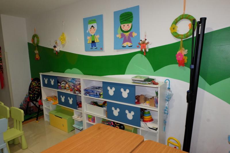 上海小児病院 プレイルーム