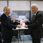 名古屋イーストライオンズクラブからのご寄付の贈呈式