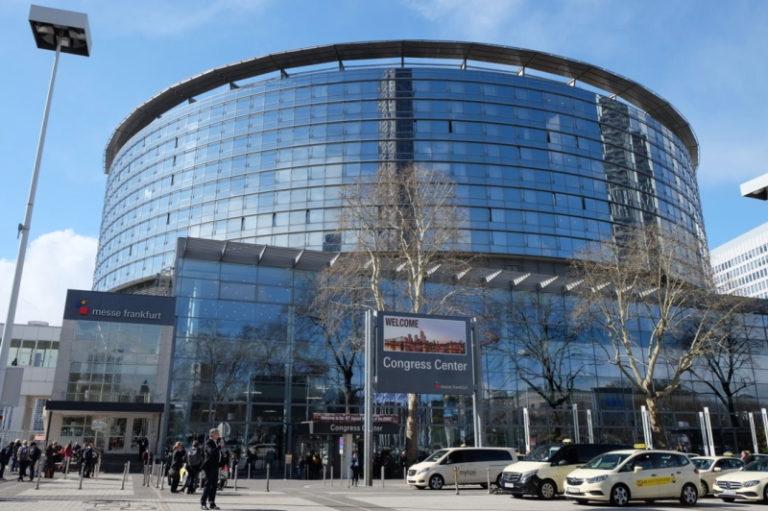 第45回EBMT会議の会場 ドイツのフランクフルトで開催