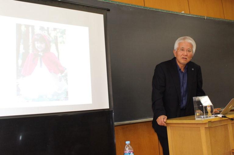 東海高校サタデープログラムで小島理事長が講演