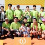 キョーワグループ主催チャリティマラソンに参加
