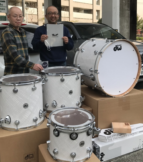 樋口宗孝がん研究基金がご縁のドラム物語